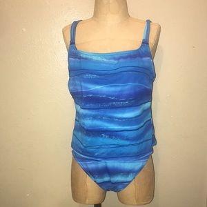 L.P.by Maxine,two piece of swimwear.size 14.